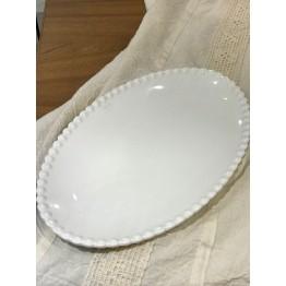 Bandeja de Porcelana Oval Grande