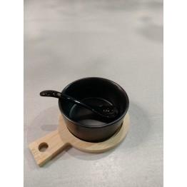 Copetinero Ceramica Negra