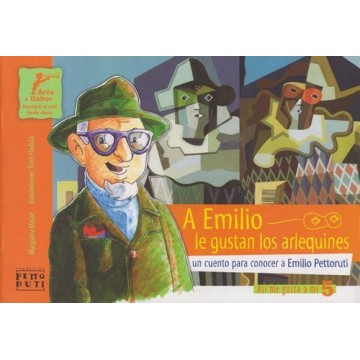 Libro - A Emilio le gustan los arlequines