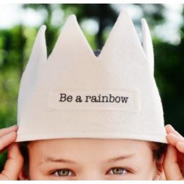 Corona de Lienzo Rainbow