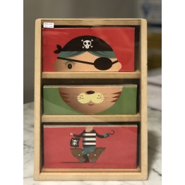 Acopladitos | Caja de madera