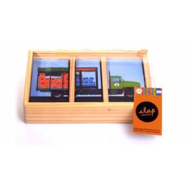 Acopladitos   Caja de madera