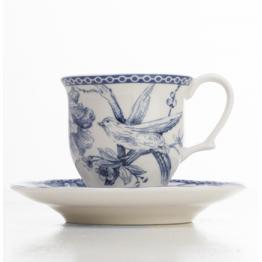 Juego 6 Tazas de Café Blue Dove