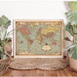 Mapa Maravillas del Mundo