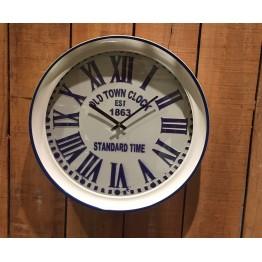 Reloj de Metal Azul