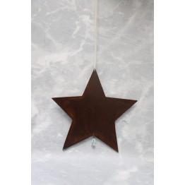 Colgante Corazón/Estrella Chapa