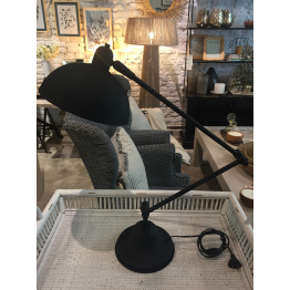 Lámpara de Mesa Negra
