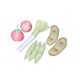 Kit verduras de Tela X8