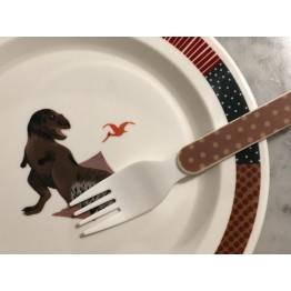 Plato con Tenedor