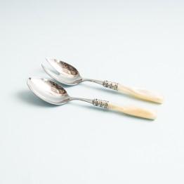 Set de Cuchara y Tenedor Arianna para Ensalada